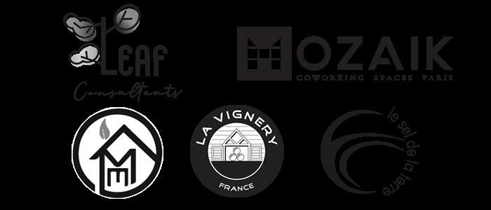 logo des précédents partenaires